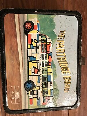The Partridge Family Lunch Box with thermos