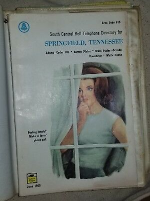 Springfield Robertson County Tennessee Phone Books