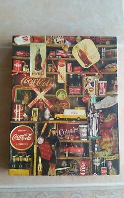 "Coca-Cola Jigsaw Puzzle 500 pieces Vintage 1986 18 x 23 1/2 inches ""Coke is it!"""
