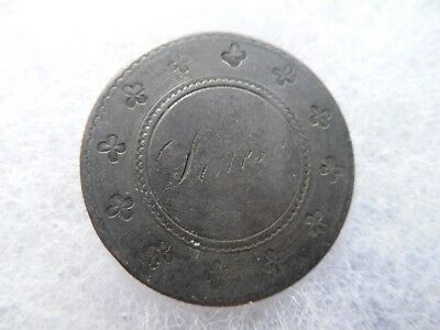 Love Token 1853 Liberty Seated Quarter 25c Silver Coin Twenty Five Cent Cents