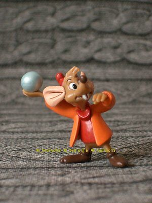 New -Jaq- Cinderella Tiny Figure Disney Choco Egg Jacques Mouse Cake Topper