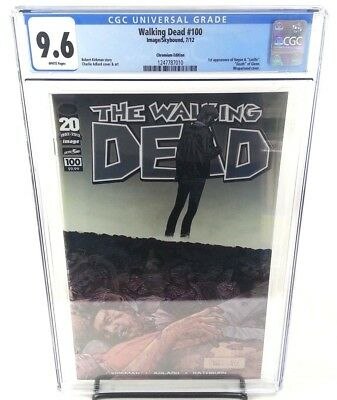 The Walking Dead #100 CGC 9.6 Chromium Edition