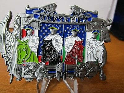 NYPD The Four Horseman New York City Mounted Police Challenge Coin #6974