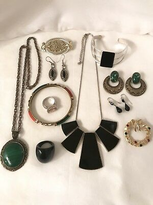 Vintage To Now Estate Jewelry Lot All Wearable