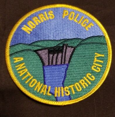 Police Patch Norris P.d. Tennessee