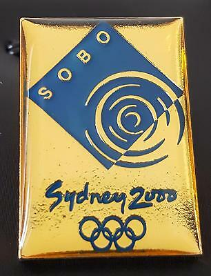 LIMITED Ed. of 1000 - SOBO SYDNEY OLYMPIC BROADCASTING ORGANISATION PIN 1997