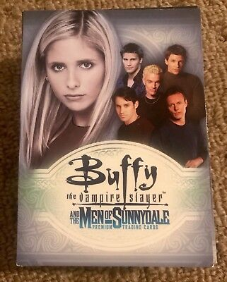 Buffy Men Of Sunnydale Trading Cards Set Of 81 Collector Cards Vgc