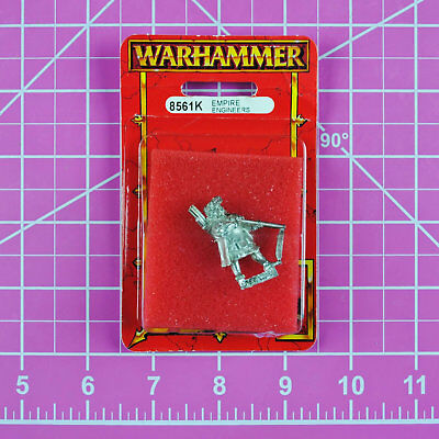 Warhammer Empire Engineer NIB Metal - Rare & OOP - Games Workshop Citadel Kislev
