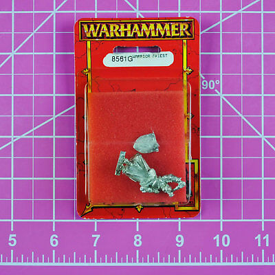 Warhammer Empire Warrior Priest NIB Metal - Rare & OOP - Games Workshop Citadel