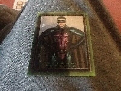 Topps Batman Forever Stickers Chromium Sticker B4 Robin