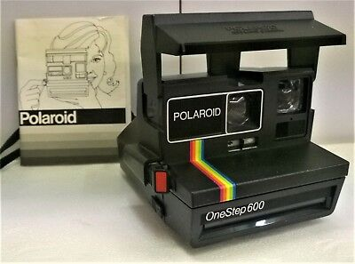 Poloroid One Step 600 Camera + booklet