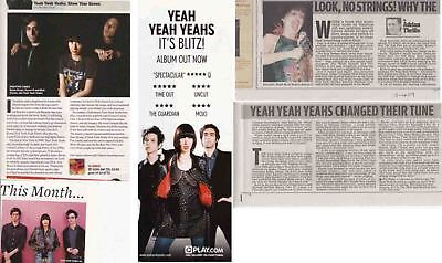 YEAH YEAH YEAHS : CUTTINGS COLLECTION -interview-