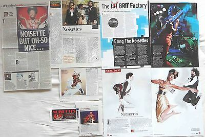 THE NOISETTES : CUTTINGS COLLECTION -interviews-
