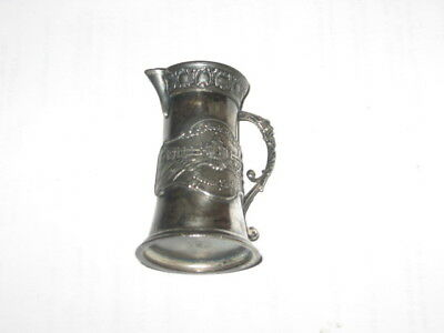 St. Louis 1904 Worlds Fair Engraved Pitcher Quadruple Plate