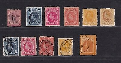 a Siam Thailand Mint & Used Stamps from 1883 inc. British PO in Bangkok HCV