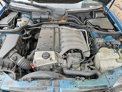 MERCEDES E300TD W210 OM606 COMPLETE ENGINE with turbo  can be heard running