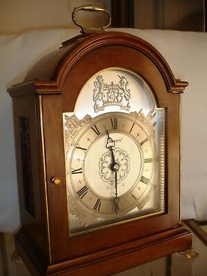 Elliott Clock /  Triple Fusee- Month Duration- Musical Bracket- Mantle Clock