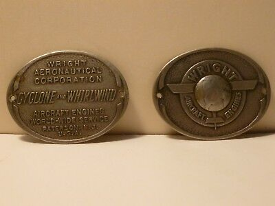 Estate Sale Find Rare Wright Aircraft Engine Pocket Magnafier Side Pieces-3D Art