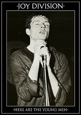 Joy Division Ian Curtis Here Are the Young Men Poster UK Import 23.5 x 33