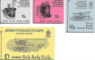 Jersey. Stamps Booklets. 1975 Decimal Currency Definitives.