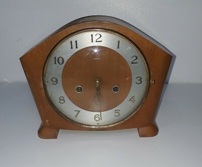 Vintage Smiths mantel clock spares or repair