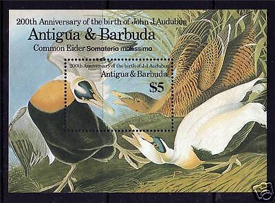 Antigua 1986 Birds John Audubon MS SG994 MNH