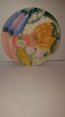 Fritz Floyd collectors canape  plate new