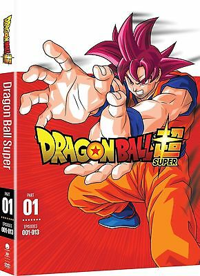 .Dragon Ball Z Super:Anime Series Complete Part 1 Episodes 1-13 Box/DVD Set NEW!