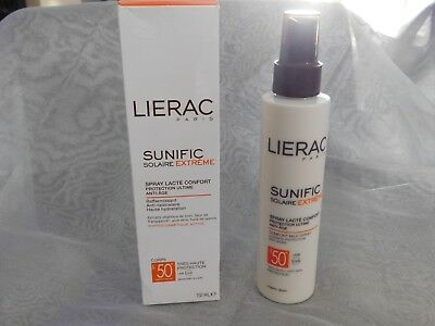 LIERAC , sunific solaire extreme,SPF 50