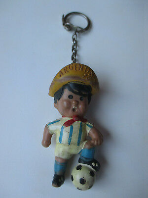 FIFA Football World Cup Argentina 1978 Gauchito Vintage Key Chain