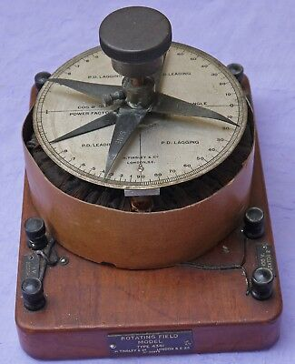 Vintage - Rotating Field Model - Instrument- Early Electrical- H.tinsley-London.