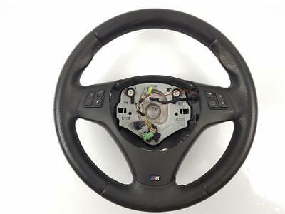 2008-2011 E87 BMW 1 Series 118D STEERING WHEEL Black Leather 7839075-01