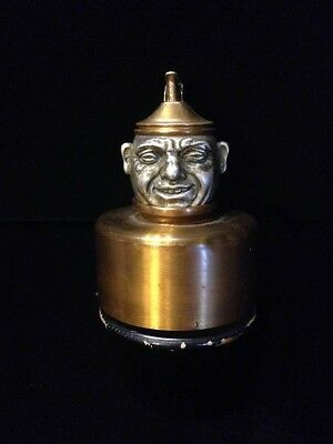 Evans Topkick Lighter & Music Box Two-faced Sergeant - Vintage 1940's