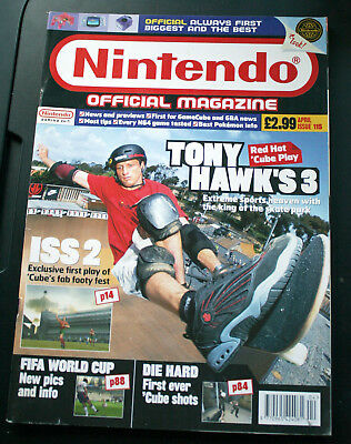 OFFICIAL NINTENDO MAGAZINE issue 115 (April 2002)
