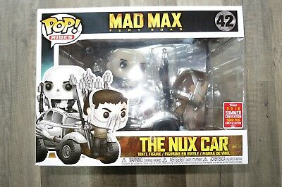 Funko Pop Rides The Nux Car * SDCC 2018 * Mad Max: Fury Road * LE5000 limitiert