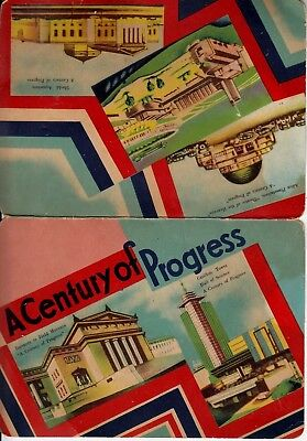 Vintage Chicago Worlds Fair Century of Progress Needle Book 1933-1934 Incomplete