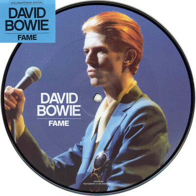 David Bowie - Fame (7'' Vinyl Single, Limited Edition Picture Disc, NEW, Sealed)