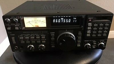 Icom IC-R7000 Receiver With Manual Works Great! Excellent Cosmetic Condition