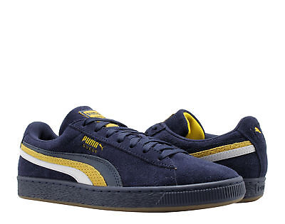 d5107cc2e8c43f Puma Suede Classic 3FS Peacoat-Yellow-Puma White Men s Casual Sneakers  36783701