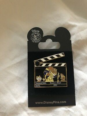 Disney Beauty And The Beast Clipperboard Pin
