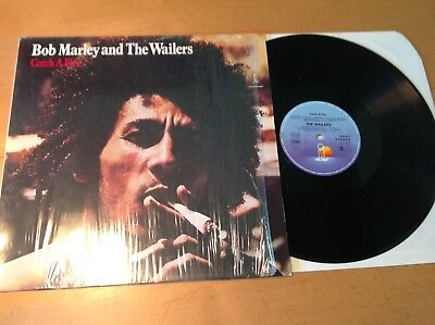 Bob Marley And The Wailers – Catch A Fire  Island Records – 203 201