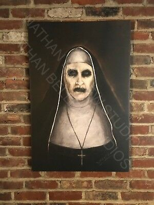 The Conjuring 2 Demon Nun Valak Painting James Wan Annabelle