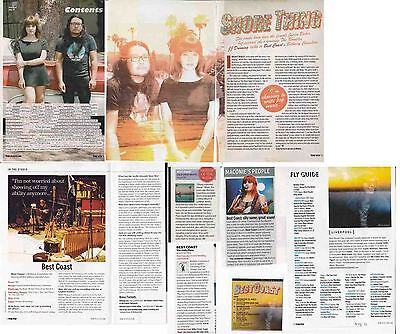 BEST COAST : CUTTINGS COLLECTION -interviews-