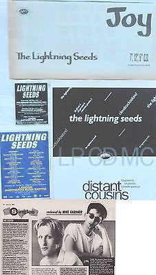 THE LIGHTNING SEEDS : CUTTINGS COLLECTION -adverts-