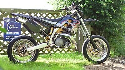 GasGas SM 250 Supermoto Road Legal Two Stroke Lovely Condtion -  Not CRF SMR SXV
