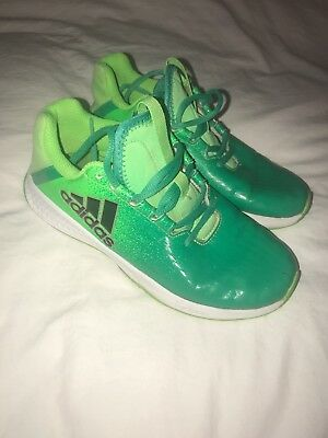 Adidas Trainers Green Size 3 Great Condition
