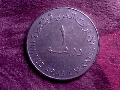 United  Arab  Emirates   1  Dirham   1998   Au05