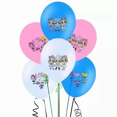 Lol Surprise Doll Latex Party Balloons Decoration 6pcs - 24pcs. BEST UK QUALITY.