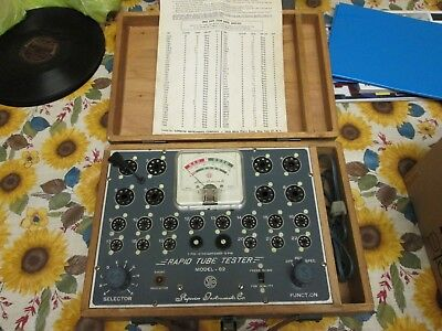 Vintage Superior Instruments Rapid Tube Tester Model-82