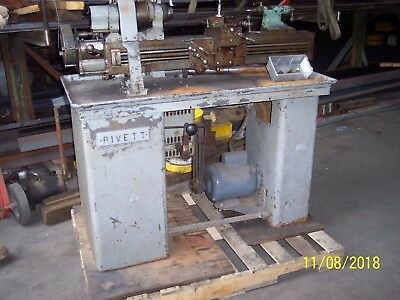 Rivett Model 608 Toolmakers Lathe